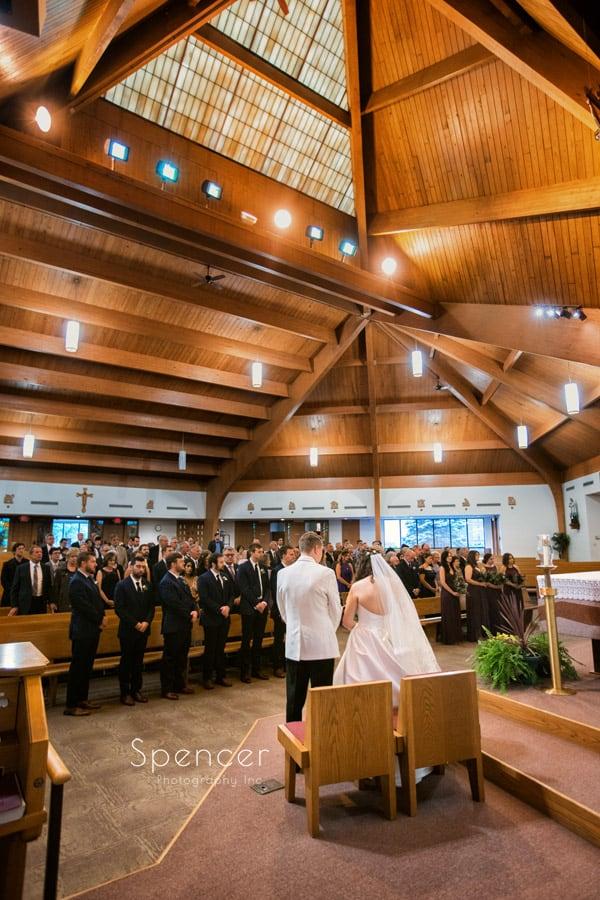 wedding ceremony in akron ohio