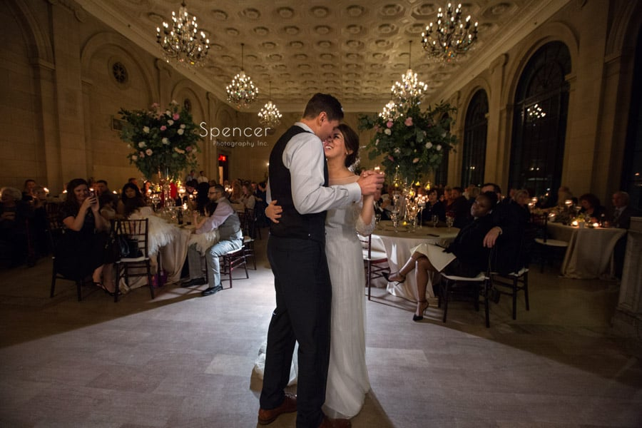first dance at ariel pearl in cleveland