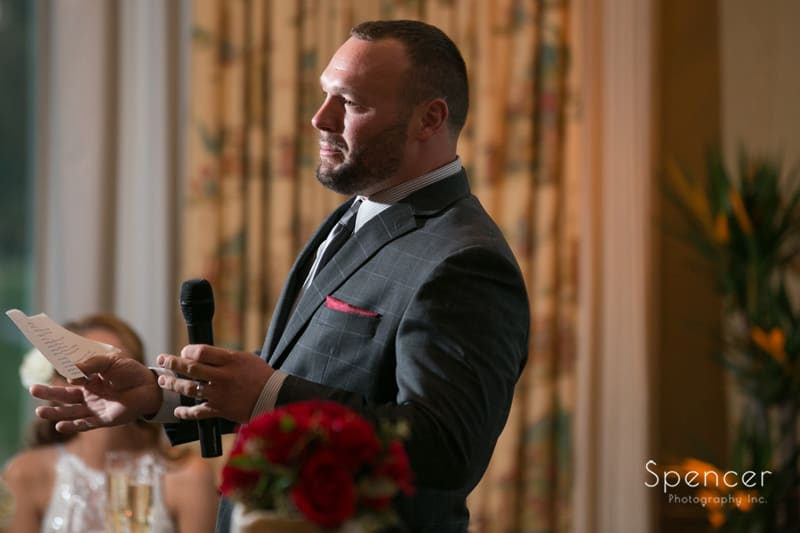 best man speech at portage country club