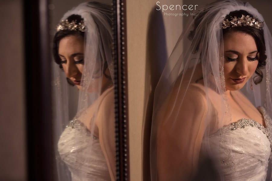 wedding picture of Canton bride