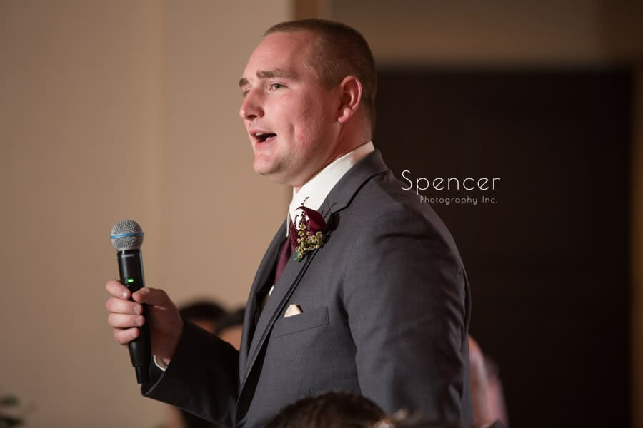 best man speech at shady hollow country club