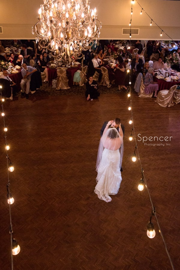 first dance at shady hollow country club reception