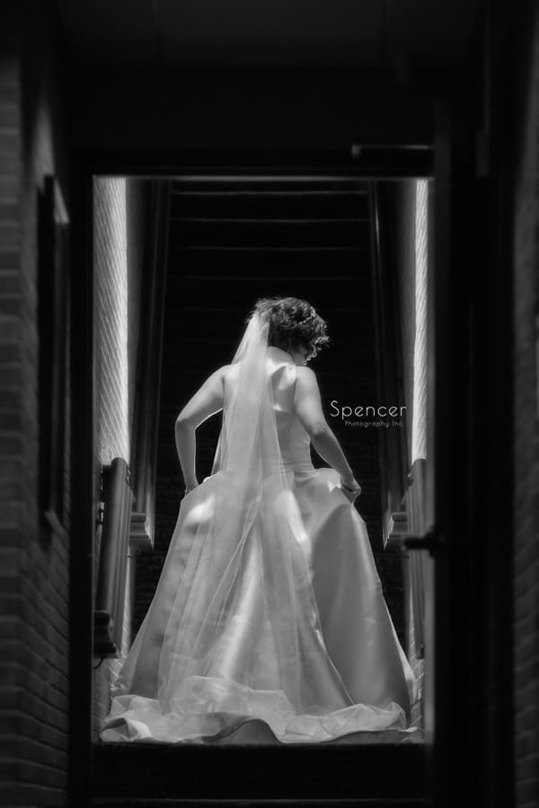 wedding day bridal picture at firestone