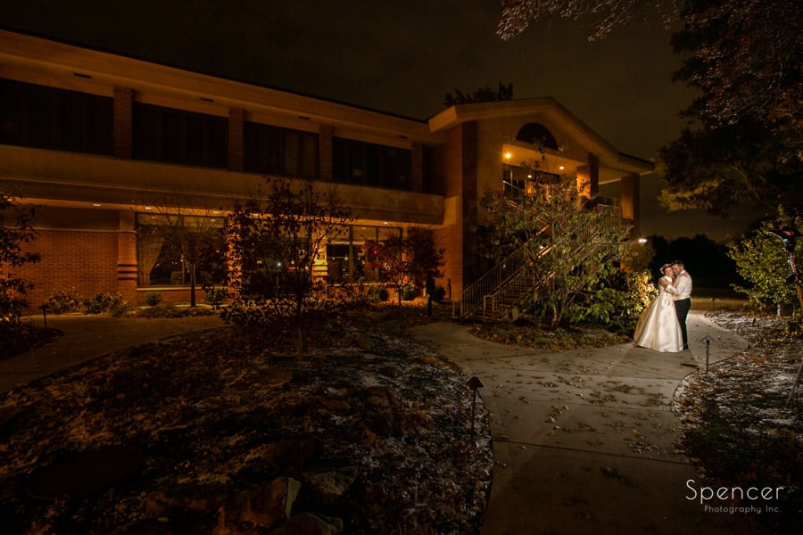 wedding picture at Firestone Country Club