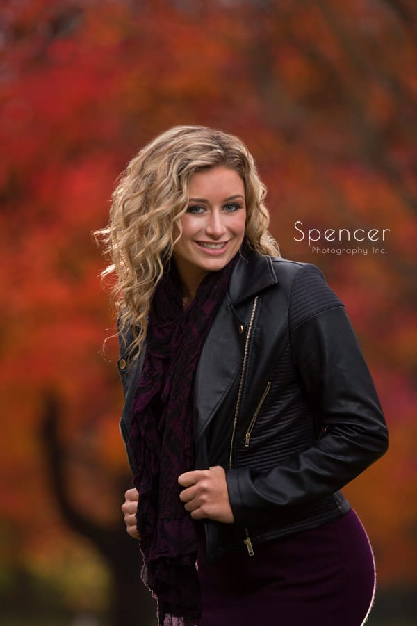 fall senior pictures in wadsworth