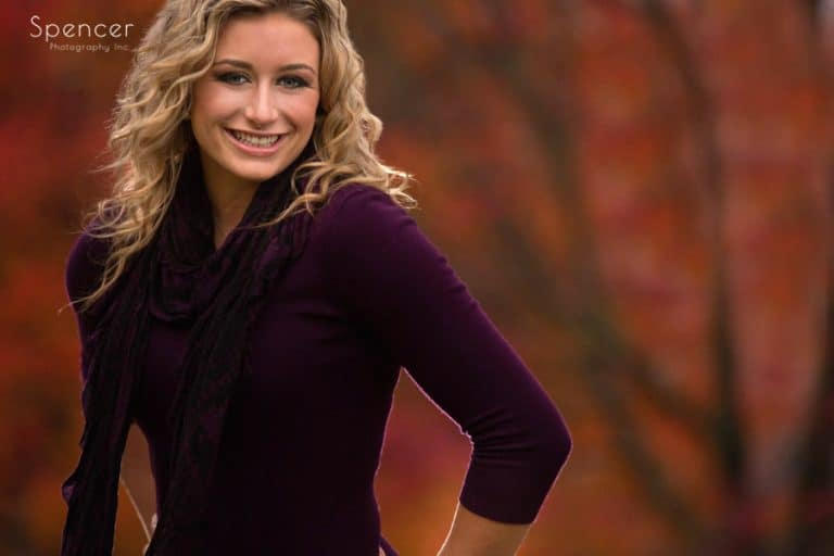 Fall Senior Pictures // Cleveland Senior Portrait Photographer