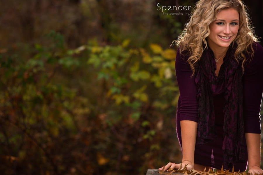 wadsworth senior pictures in autumn