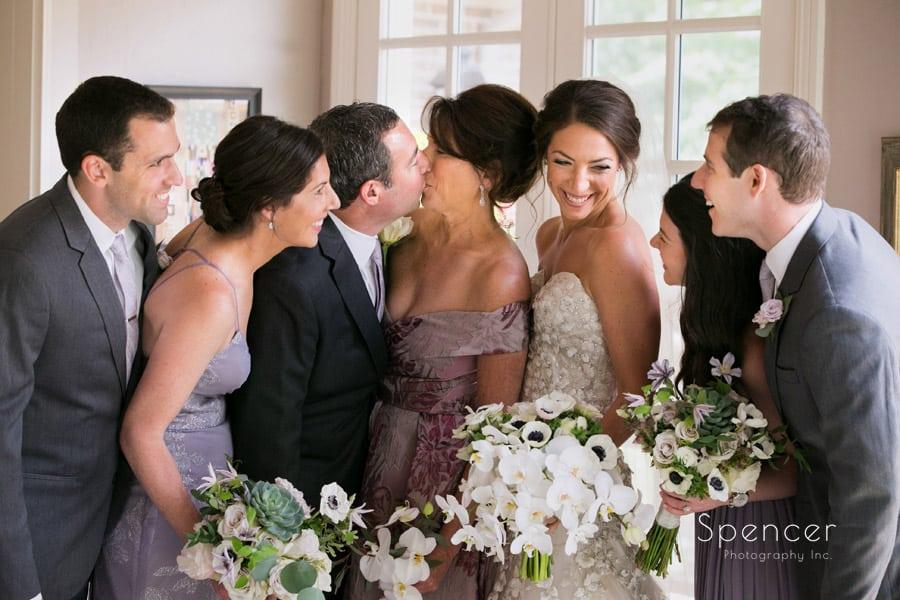 weintraub family on jewish wedding day