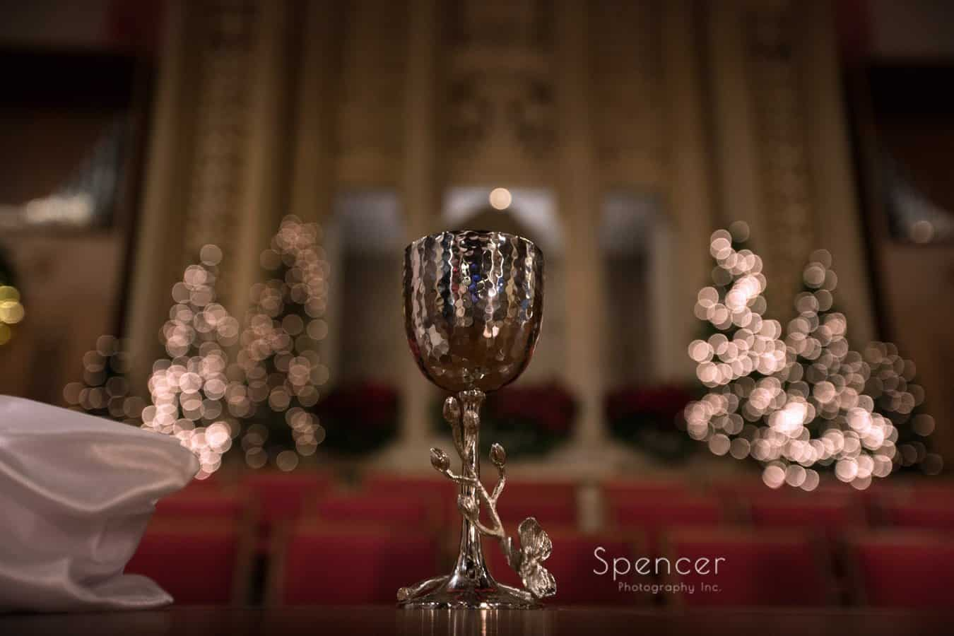 wedding chalice at first baptist church