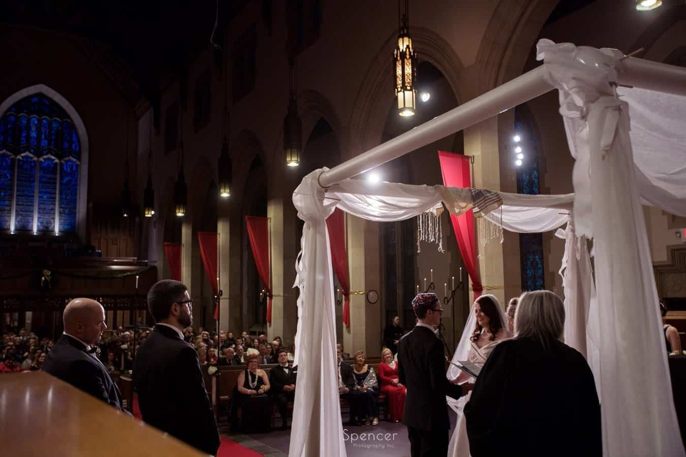 christmas wedding at first baptist church cleveland