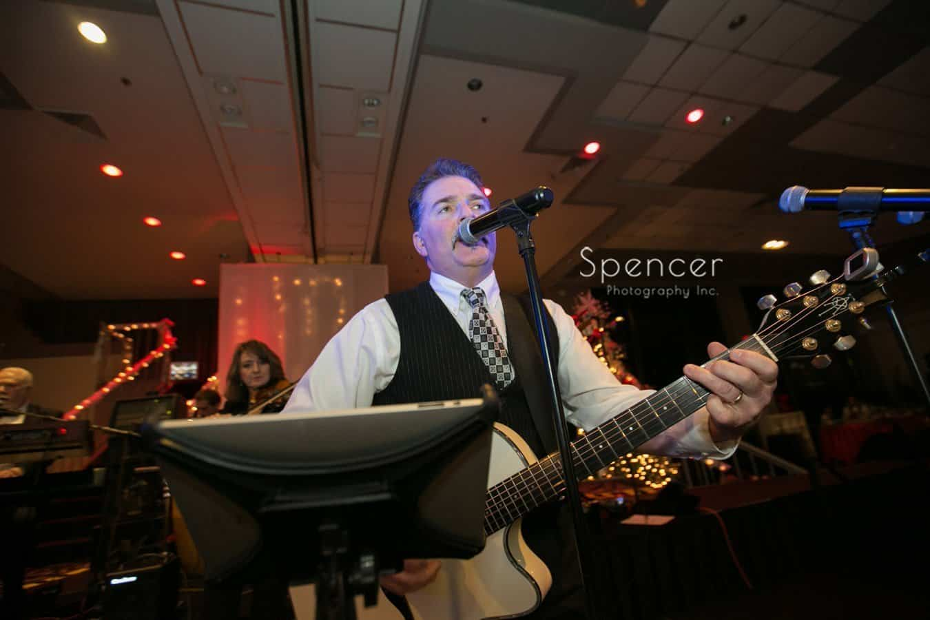 Nightbridge plays wedding reception at landerhaven