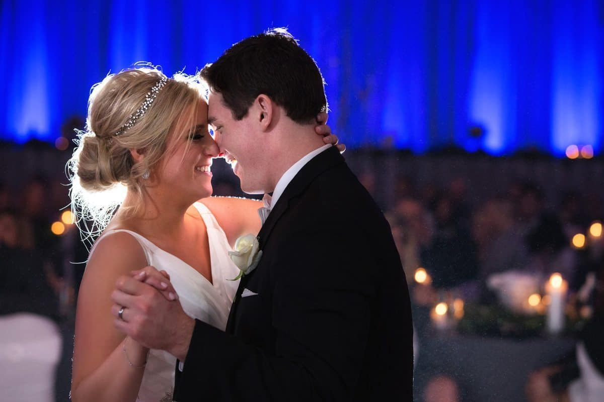 first dance wedding reception at renaissance Cleveland