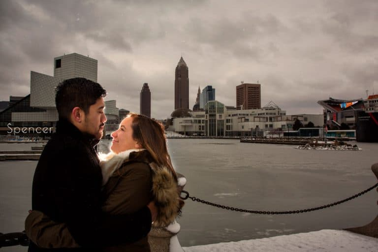 Winter Engagement Pictures // Cleveland Engagement
