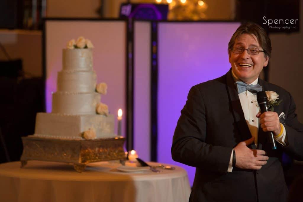 best man speech at Vosh wedding reception