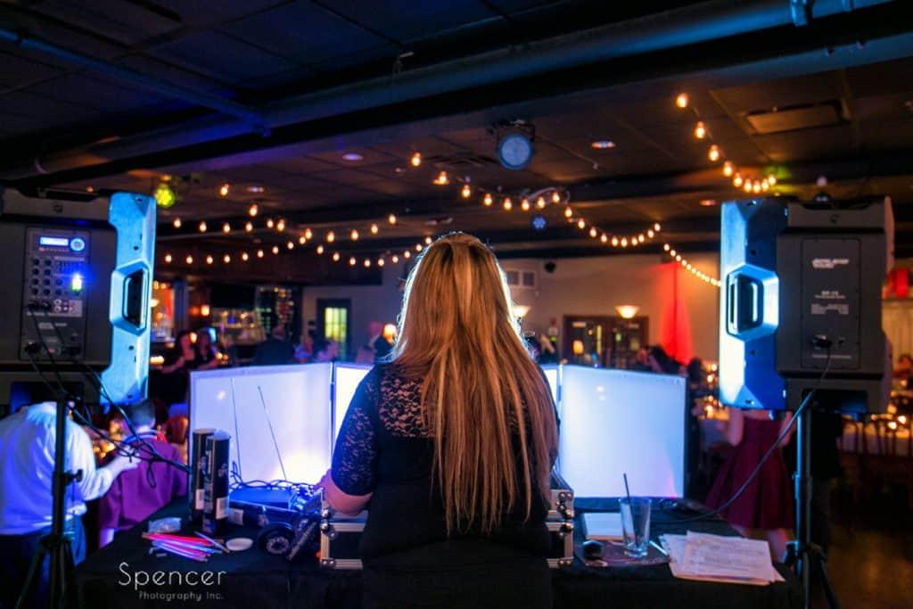 dj at Vosh Nightclub