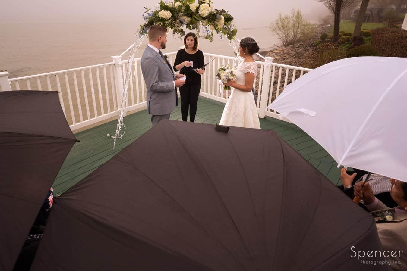 wedding ceremony Geneva on the Lake