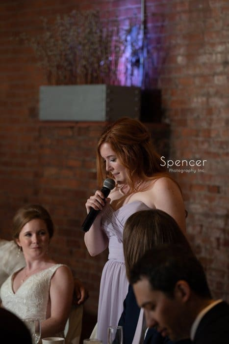 sister of bride speech at Windows on the River