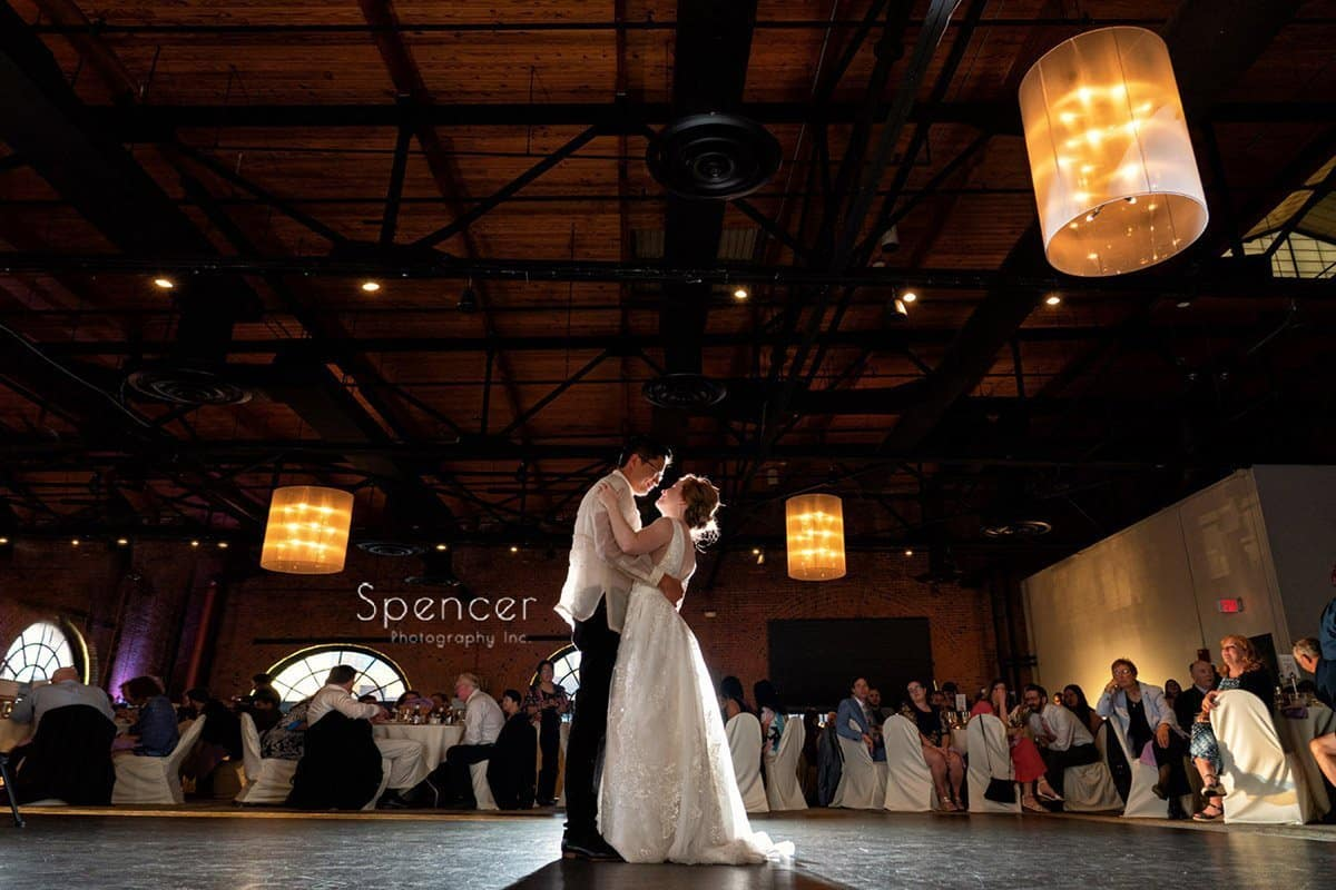 Wedding Reception at Windows on the River // Cleveland Wedding Photographers