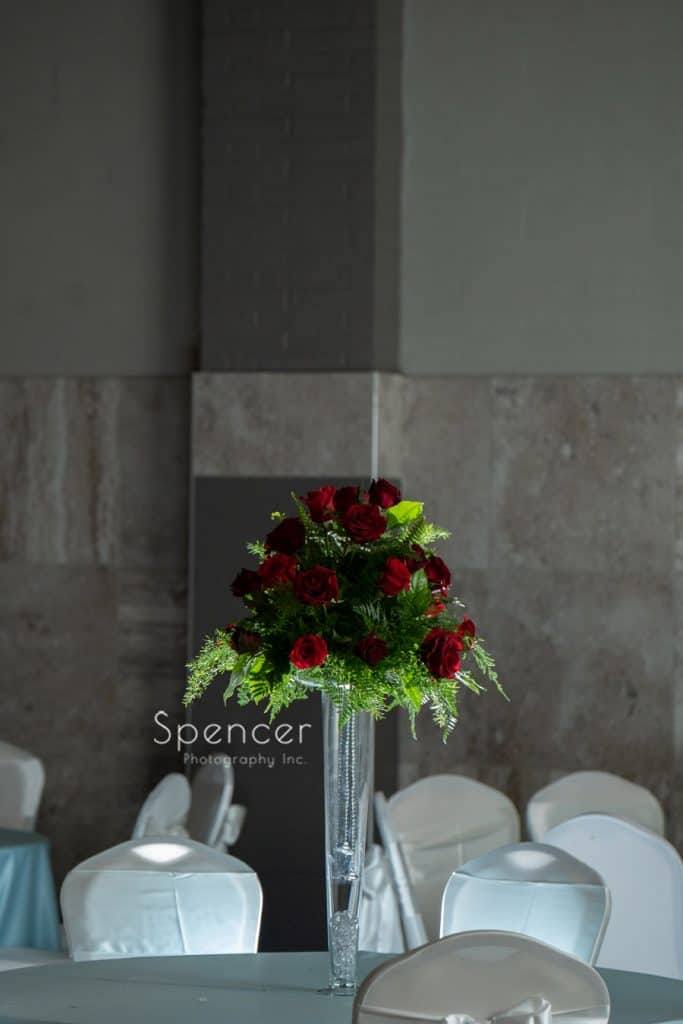 wedding centerpiece St. Demetrios Banquet Facilities