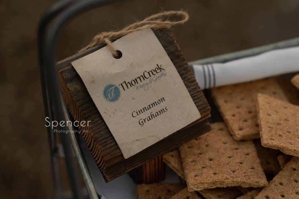 Thorncreek Winery and Gardens Cinnamon Grahams
