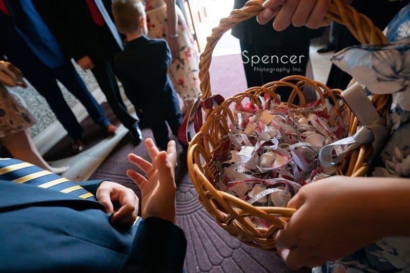 send off bubbles after greek wedding