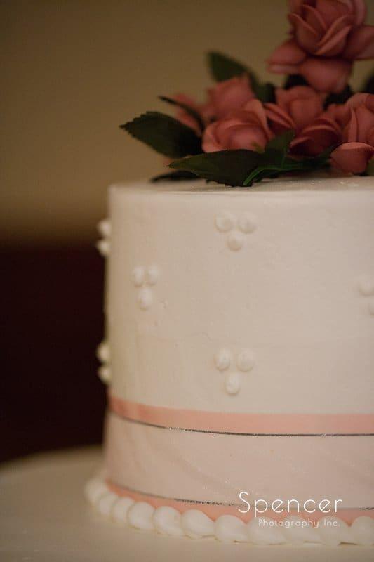 wedding cake at Caro's Party Center