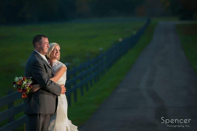 Wedding and Reception at Brookside Farm // Cleveland Wedding Photographers