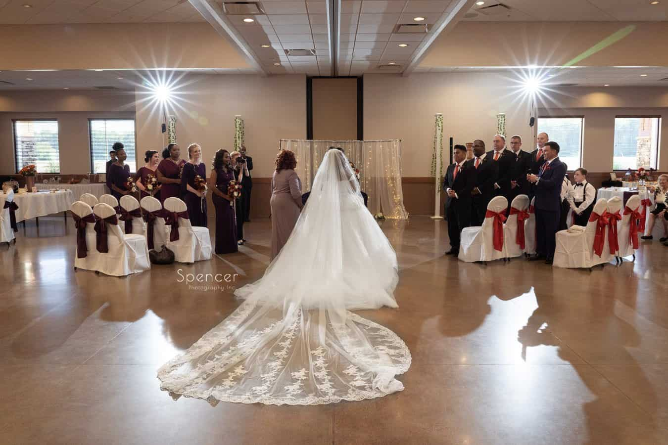 wedding ceremony in Oberlin Ohio