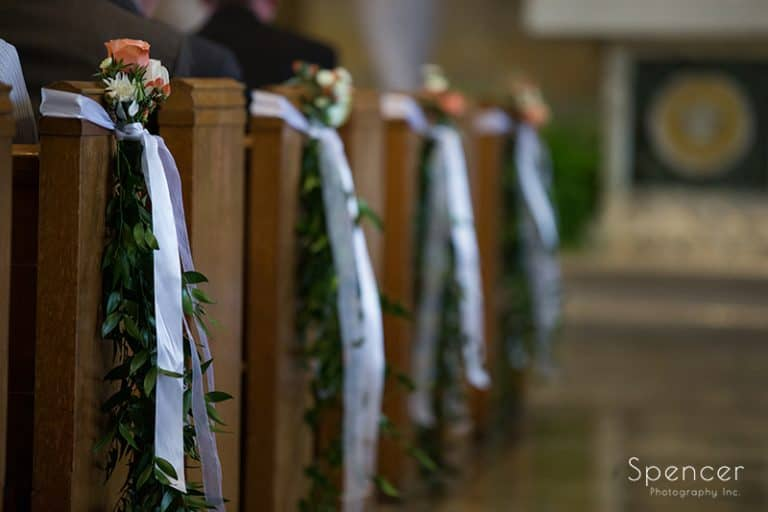 Wedding at Communion of Saints Parish // Cleveland Wedding Photographers
