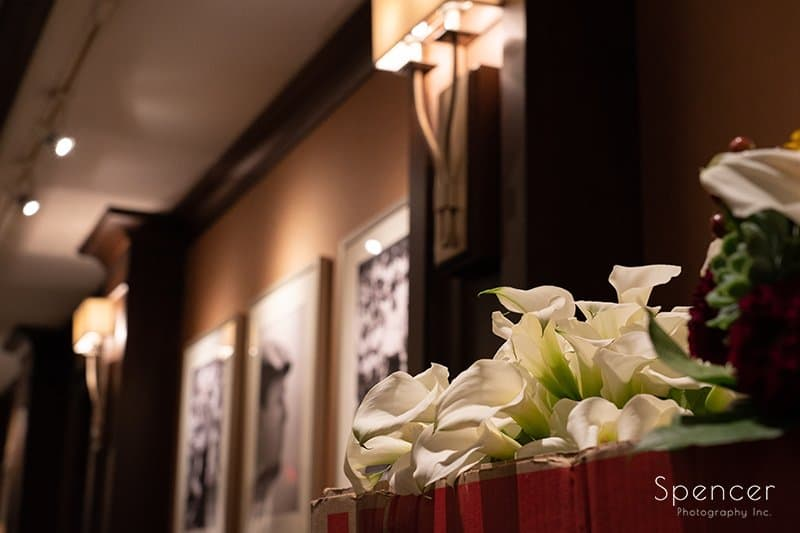 flower arrangement at Firestone Country Club