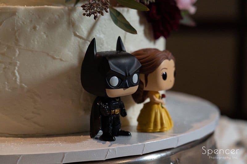 cake topper at wedding reception at LaMalfa