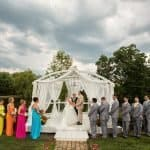 Wedding & Reception at Country Cottage & Gardens // Cleveland Photographers