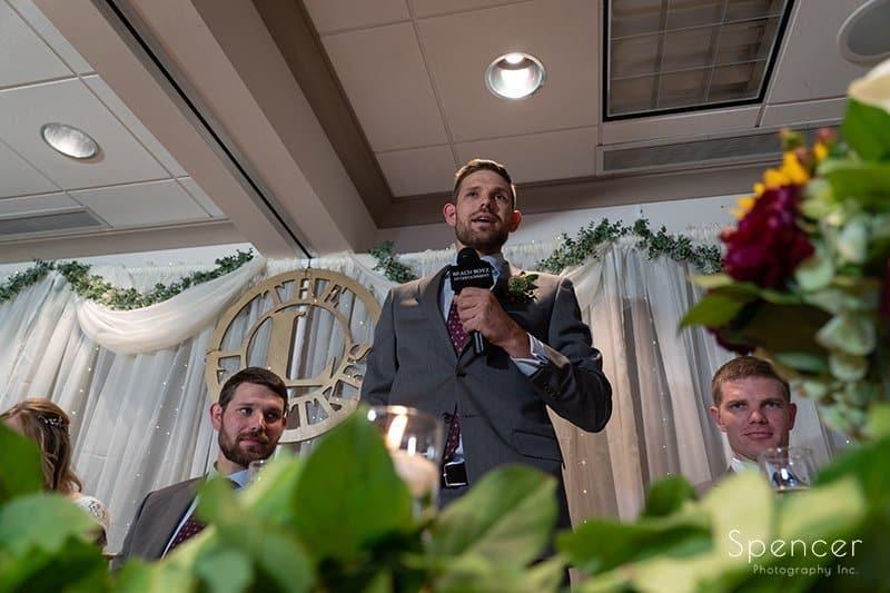 Wedding Reception at Firestone // Cleveland Wedding Photographers