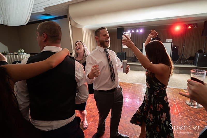 wedding receptions guests dance and LaMalfa