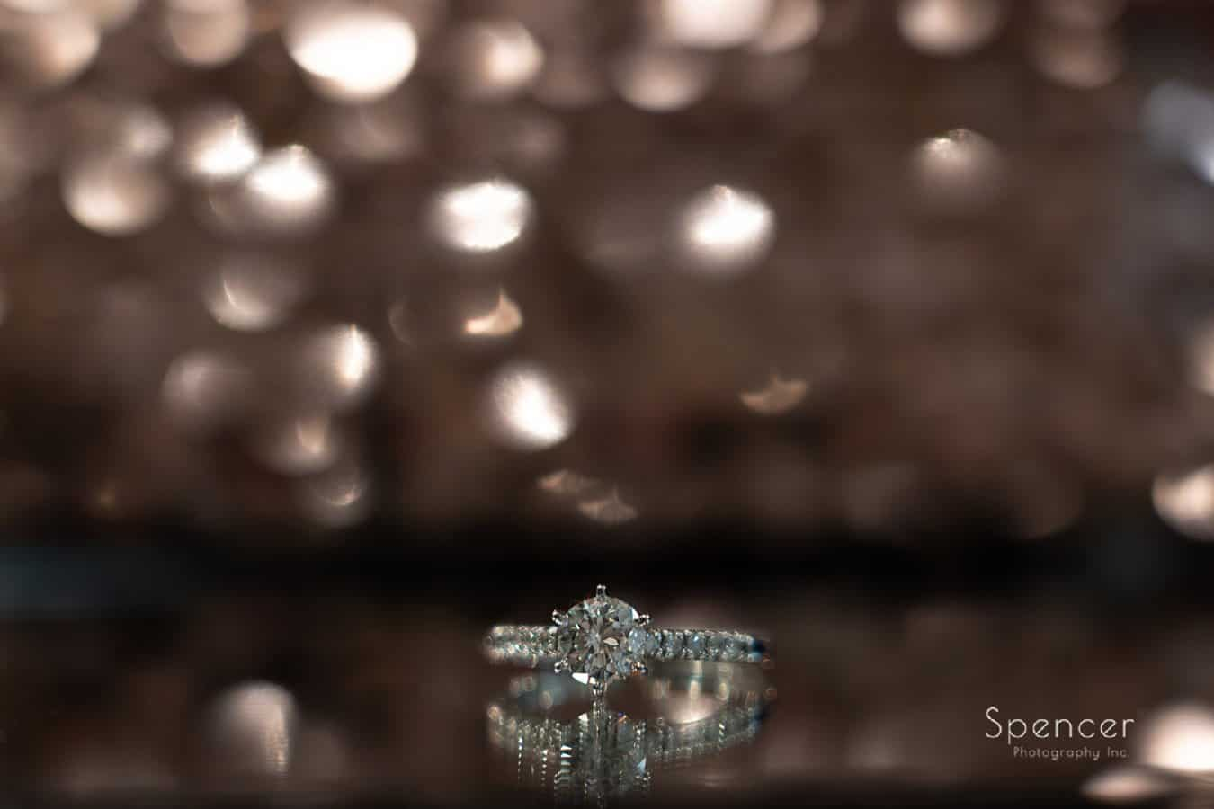 brides wedding ring at John Roberts Studio Mayfield Ohio