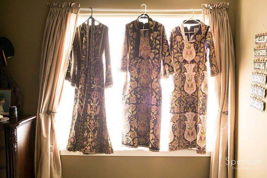 Muslim wedding apparel