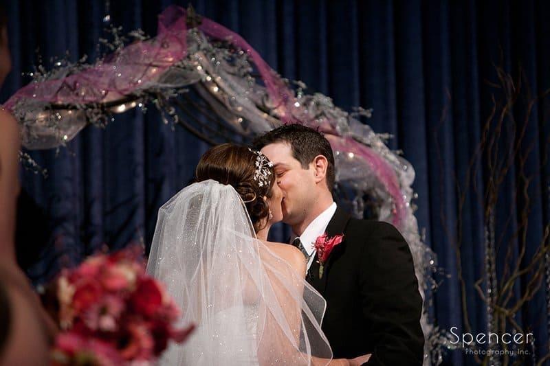 first kiss at cornerstone church medina ohio