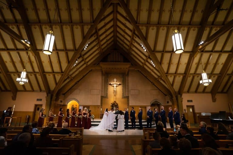 Wedding at Church of Saint Clare // Cleveland Photographers