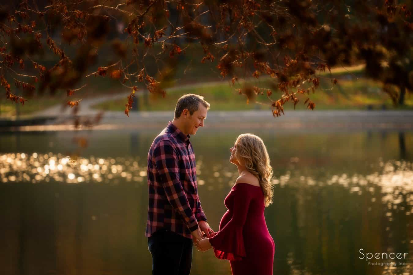 Cleveland Wade Oval Park maternity picture