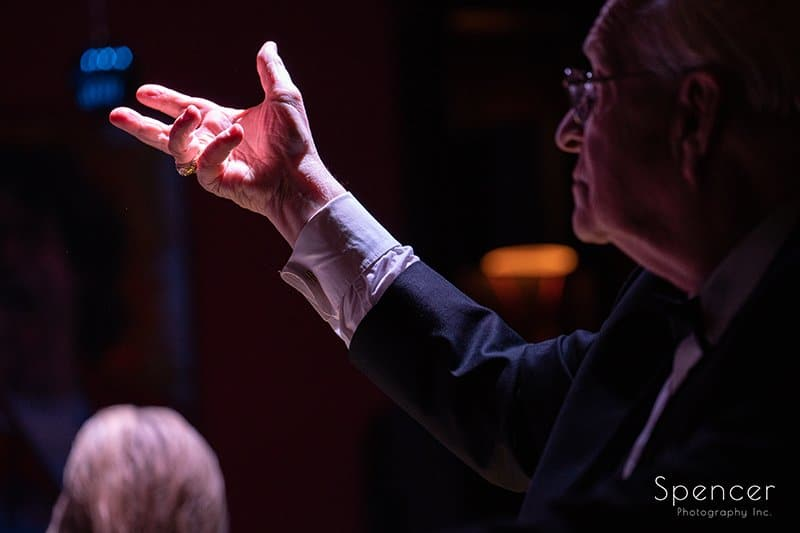Dan Zola conducting at Brothers Lounge Cleveland
