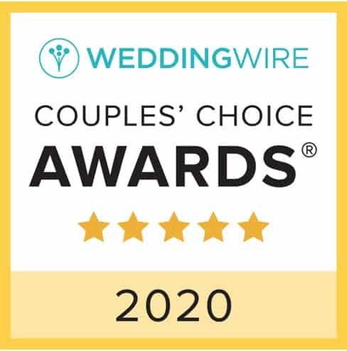 Wedding Wire Award Banner
