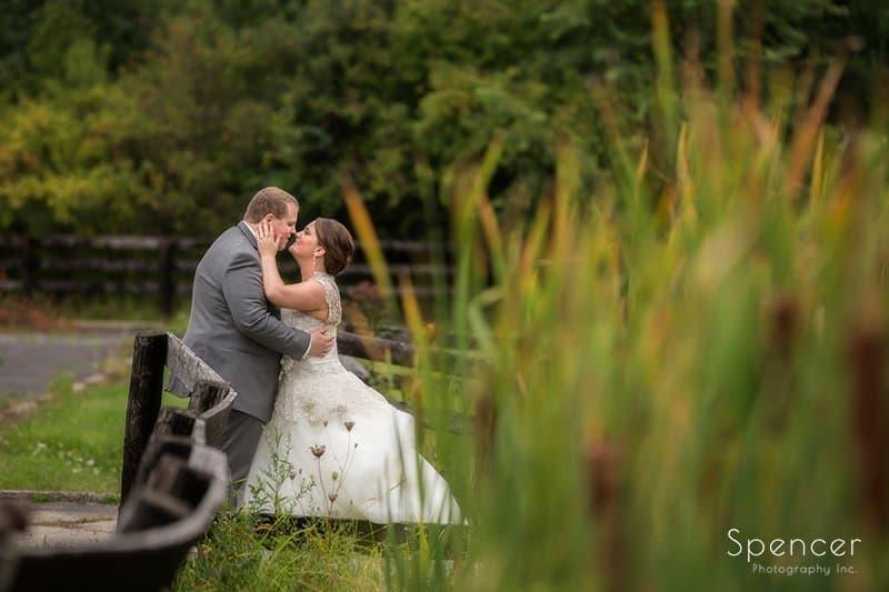 Wedding Reception at Happy Days Lodge // Cleveland Photographers