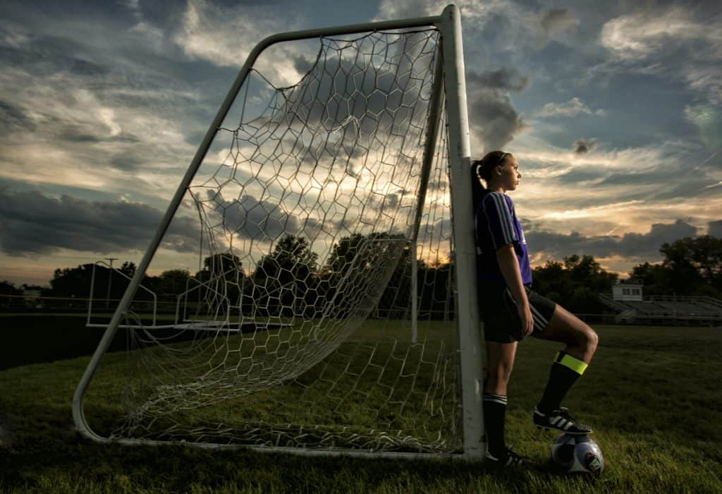 creative sports photography picture in Akron Ohio