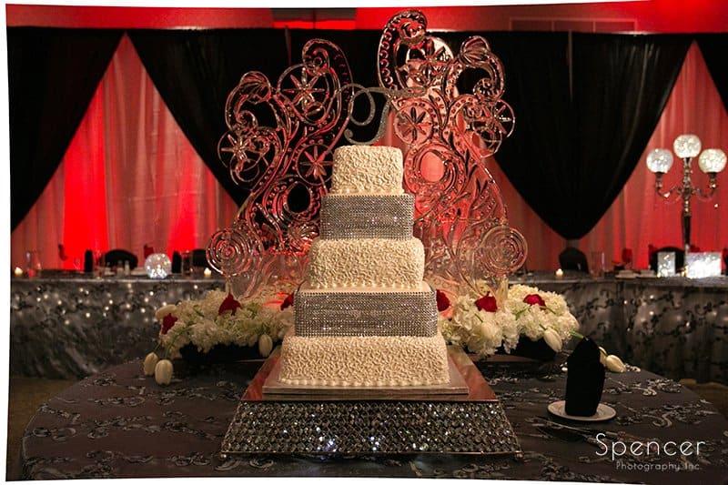 Wedding Cake at Galaxy Restaurant