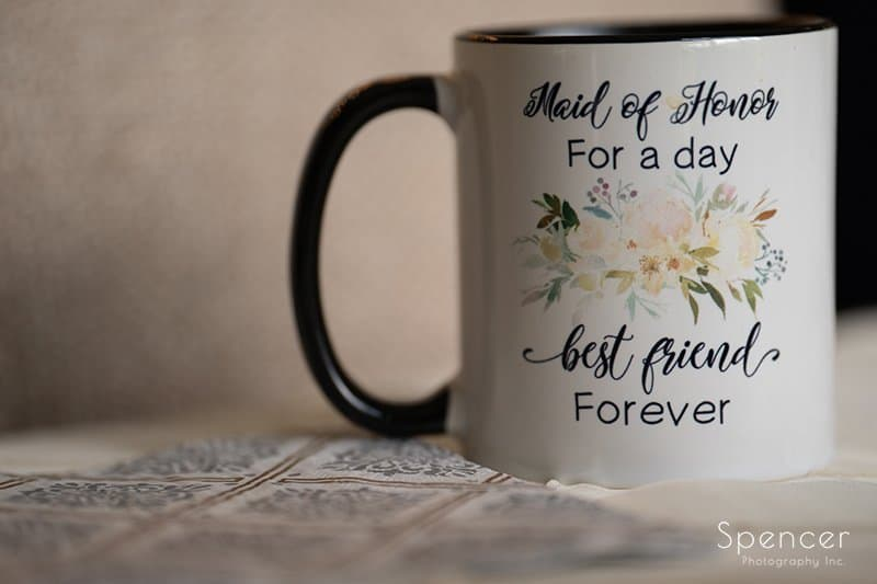wedding day coffee cup