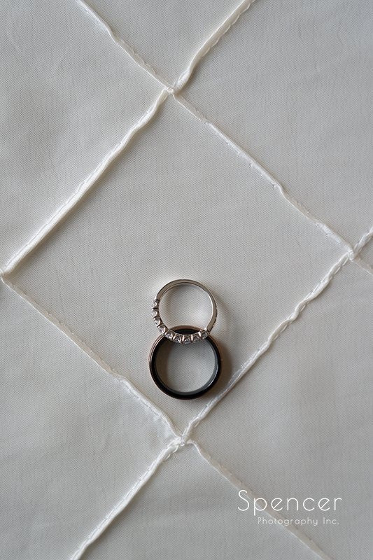 wedding rings for Akron ceremony