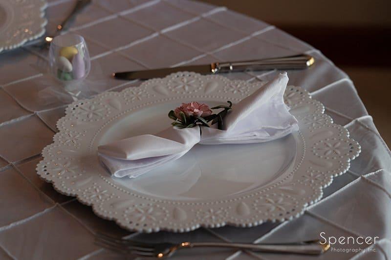 wedding dinner table setting