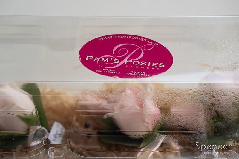 Pams Posies boutonniere container