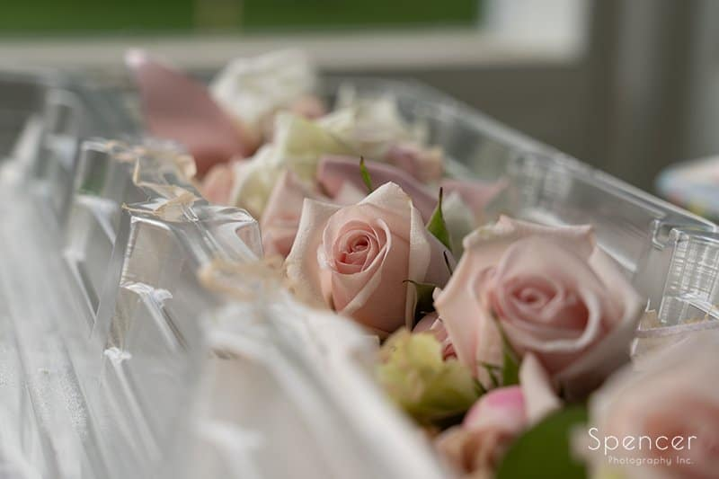 wedding boutonnieres by Pams Posies