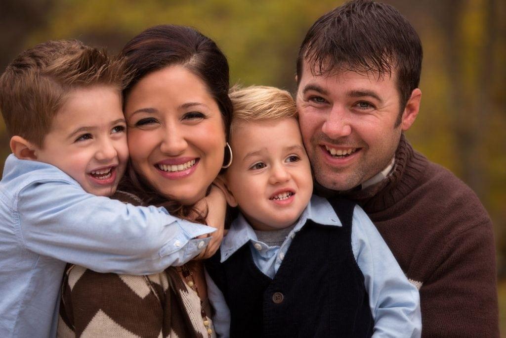 Cleveland family portrait